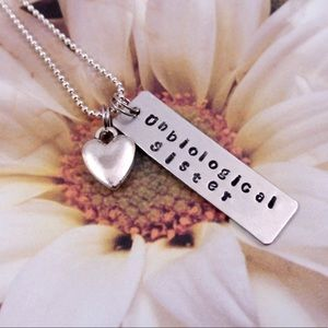 Jewelry - Unbiological Sister -Best Friend Necklace
